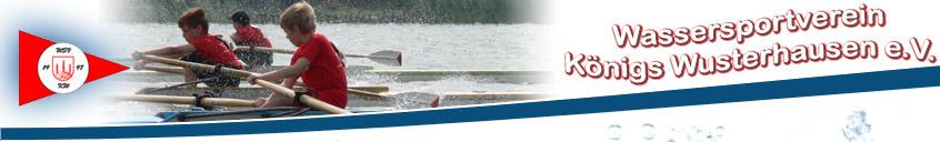 Der Wassersportverein Königs Wusterhausen